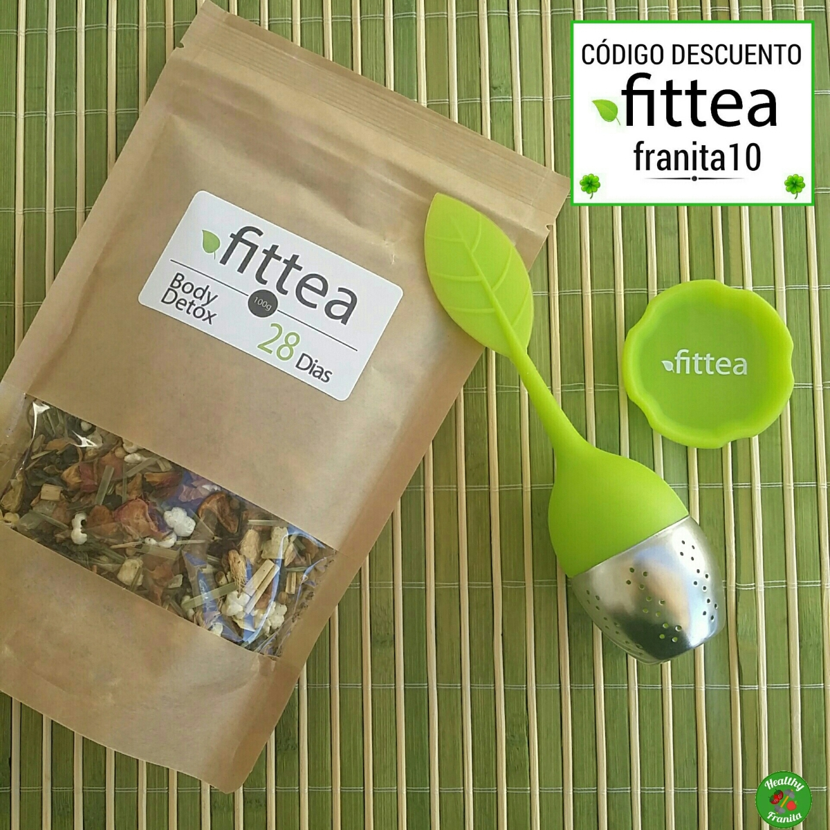 FITTEA BODY DETOX TEA 28 DIAS🍵