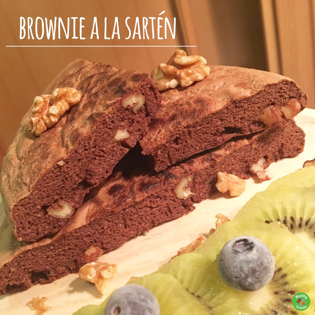 BROWNIE (en sartén)
